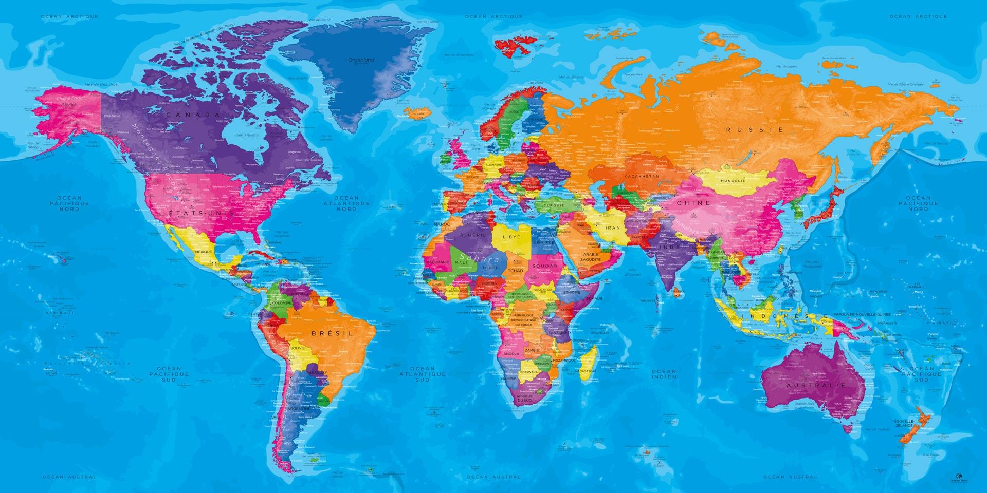Cartes du monde