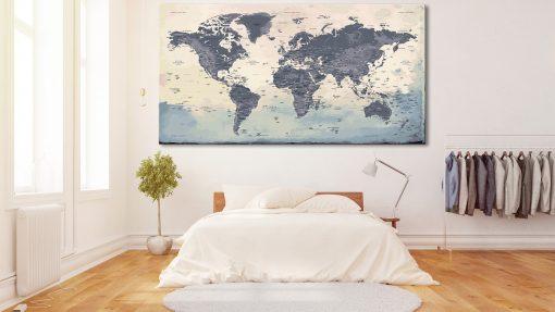Carte Monde XXL