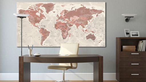 Grande Carte Monde - Alhambra