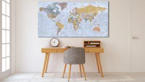 Carte du Monde - Angkor