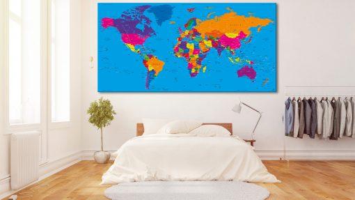 Carte Monde Classique - Danakil