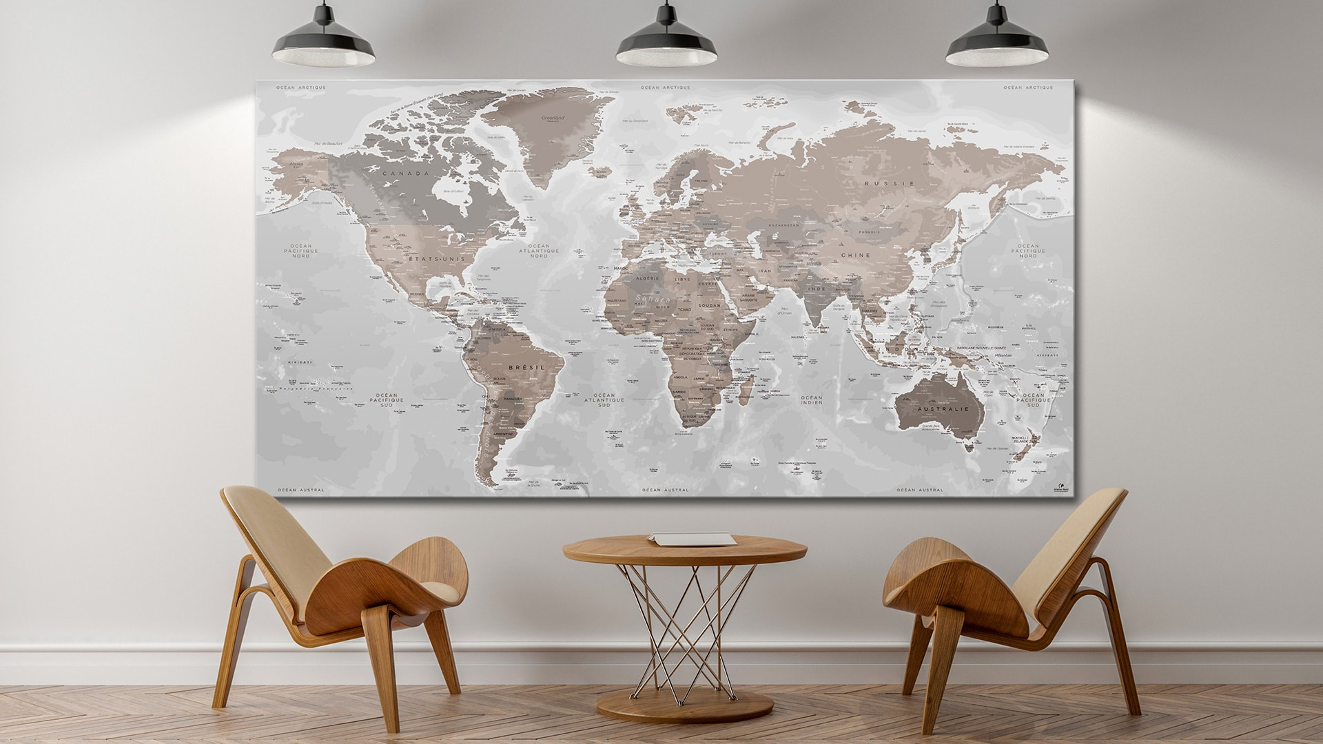 carte du monde g reme original map orignal map carte monde. Black Bedroom Furniture Sets. Home Design Ideas