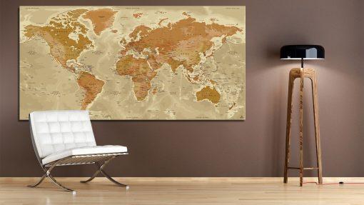 Carte Mondiale - Persépolis