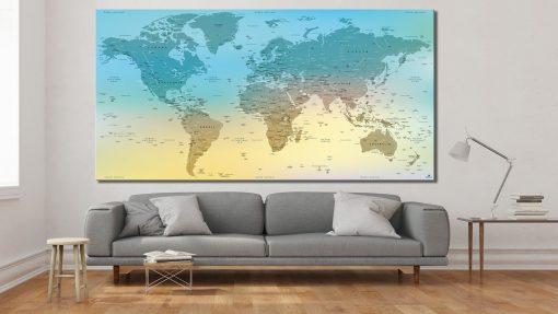 Planisphère à jour - Verdon