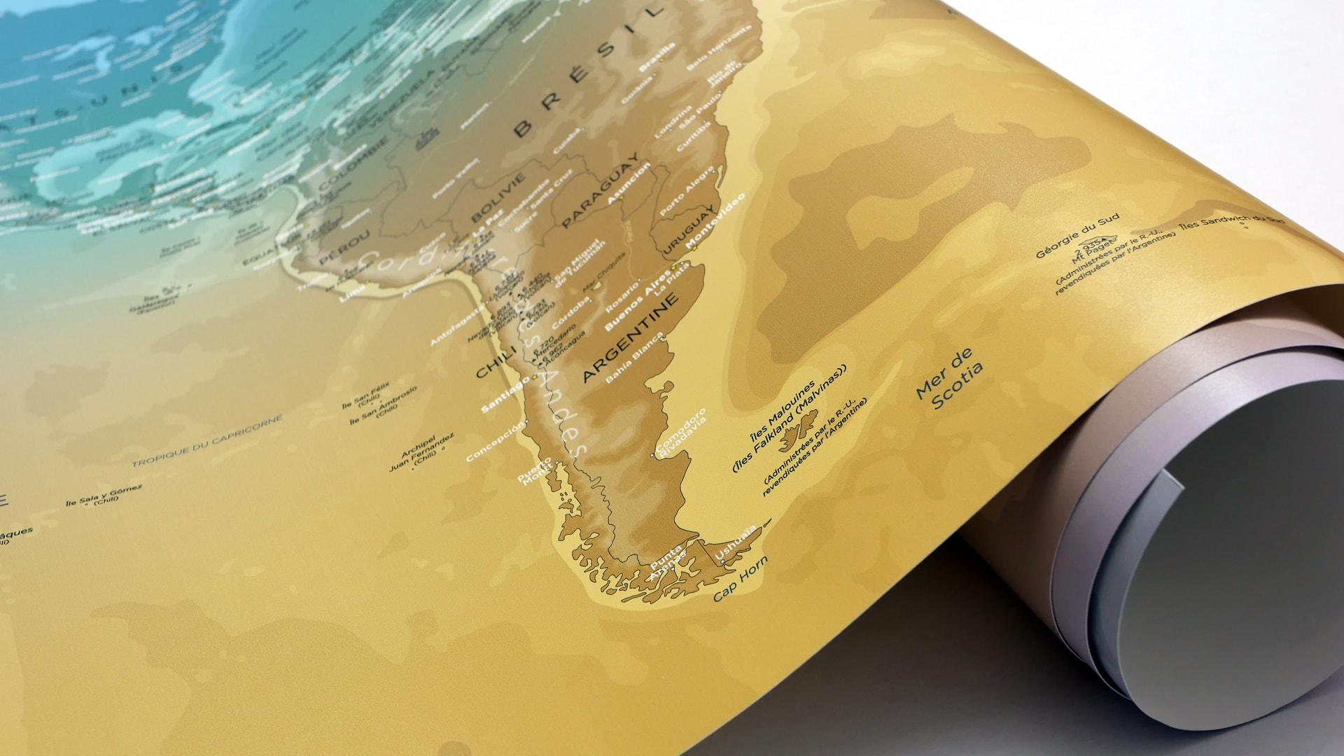 Carte Bresil Relief.World Map Relief World Map Original Map