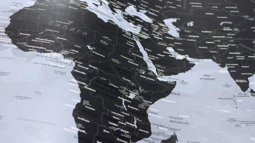 Carte Affiche