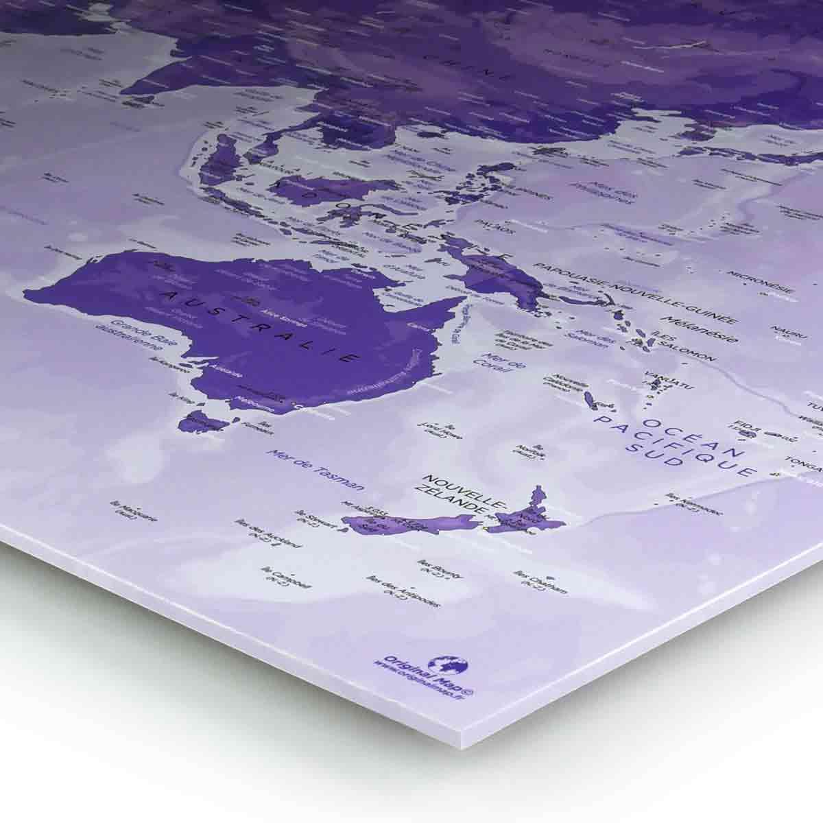 DIY - Mappemonde - Original Map