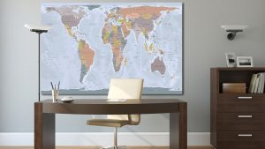 Carte monde Gall Peters
