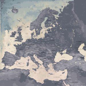 Map Europe Naïca