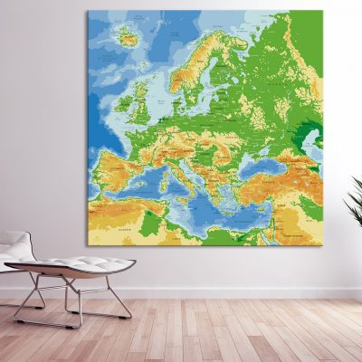 Map Europe Agora