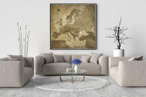 Map Europe Lascaux