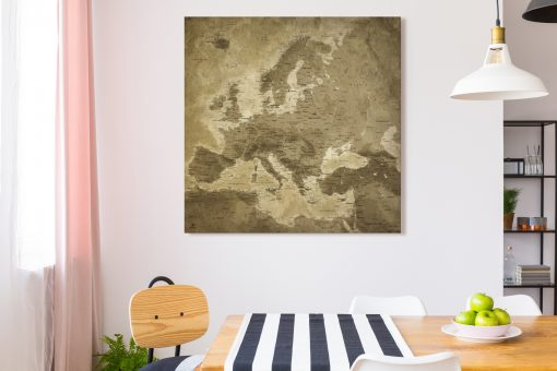 Map Europe Lascaux