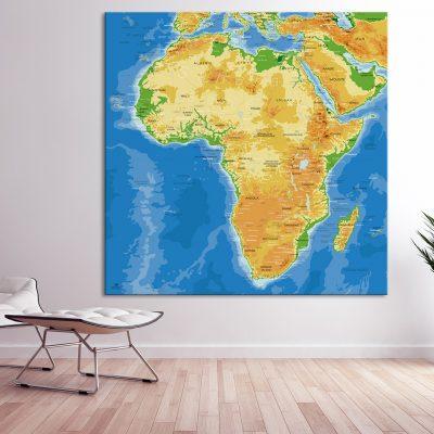 Map Afrique Agora
