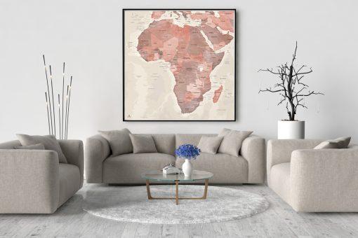 Map Afrique Alhambra