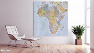 Map Afrique Angkor