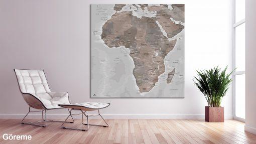 Map Afrique Göreme