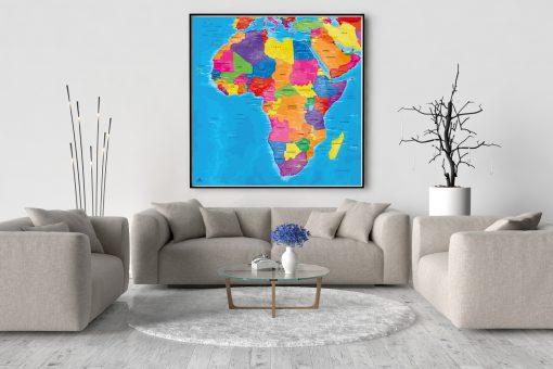 Map Afrique Manarola