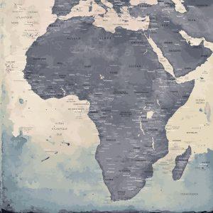 Map Afrique Naïca