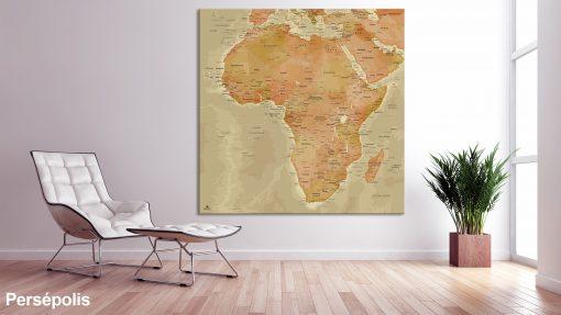 Map Afrique Persépolis