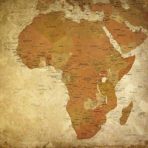 Map Afrique Pétra