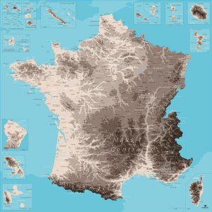 Belle carte France | Original Map