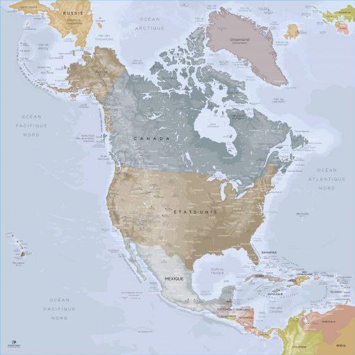 Map Amérique Nord Angkor