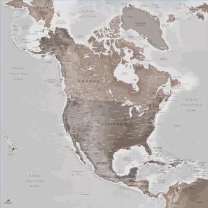 Map Amérique Nord Göreme