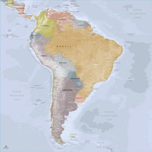 Map Amérique Sud Angkor