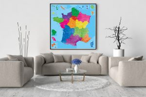 Carte de France Détaillée - Grande Carte