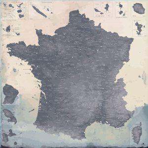 Carte France XXL | Original Map