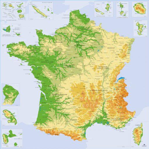 Carte France à jour | Original Map