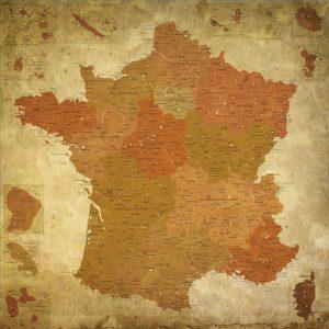Carte France affiche | Original Map