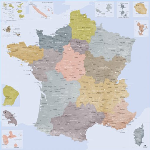 Carte France | Original Map
