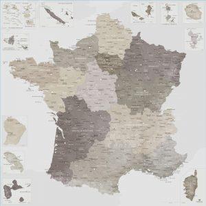 Grande carte France | Original Map