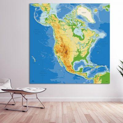 Map Amérique Nord Agora