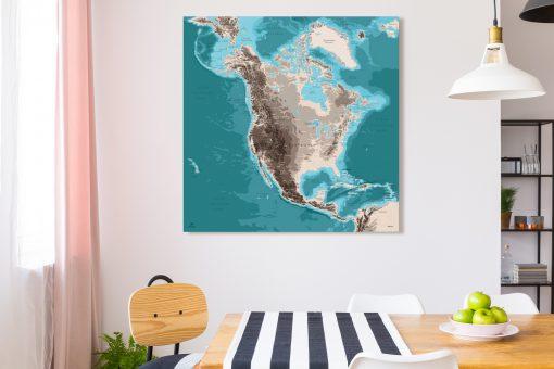 Map Amérique Nord Moaï
