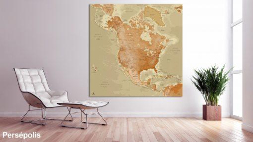 Map Amérique Nord Persépolis