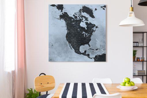 Map Amérique Nord Trolltunga