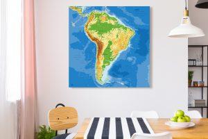 Map Amérique Sud Agora