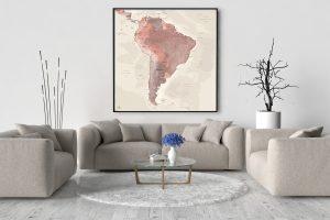 Map Amérique Sud Alhambra