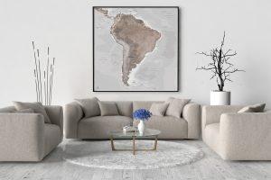 Map Amérique Sud Göreme