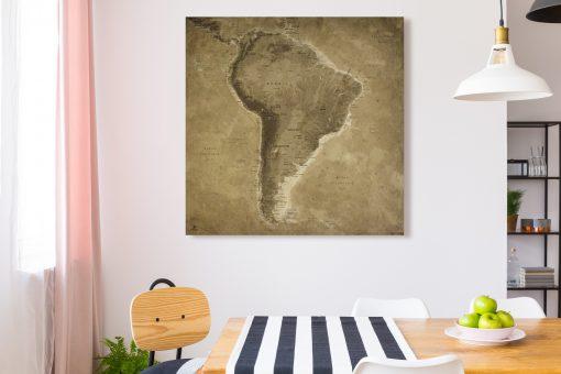 Map Amérique Sud Lascaux