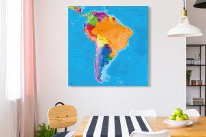 Map Amérique Sud Manarola