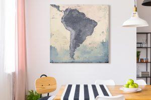 Map Amérique Sud Naïca