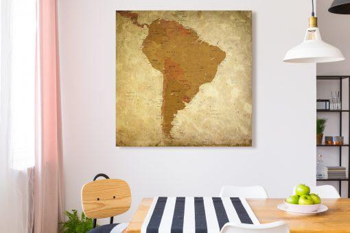 Map Amérique Sud Pétra