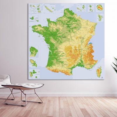 Map France Agora