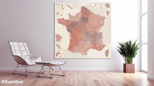 Map France Alhambra