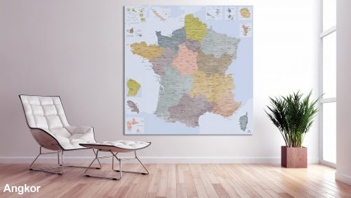 Map France Angkor