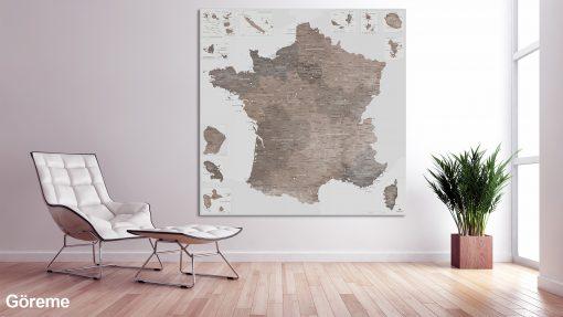 Map France Göreme