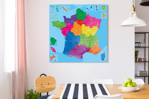 Map France Manarola